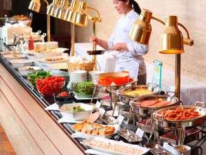 城山観光ホテル:朝食バイキング