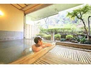 中川温泉 かくれ湯の里 信玄館:貸切風呂「山色の湯」