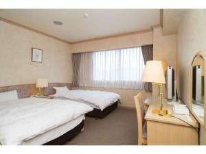 オオズプラザホテル:ツインルーム
