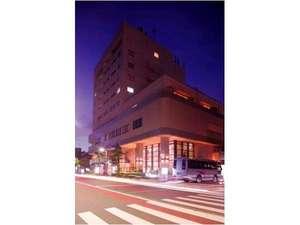 ホテル外観☆夜景☆