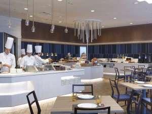 パレスホテル大宮:バイキング(ブッフェ)カウンターも2017年8月に刷新!ライブ感あるお食事を。※イメージ