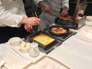 パレスホテル大宮:朝食ブッフェでは玉子料理の他、ワッフルやフレンチトースト、パンケーキも手作り。※イメージ