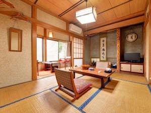 清津峡温泉 いろりとほたるの宿せとぐち:*和室6畳(客室一例)/一人旅やカップルにオススメ!ほのかに薫る畳の香りに寛ぎのひと時を。