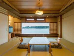 千年島の一軒宿 はわい温泉 千年亭:和室一例(12.5畳)