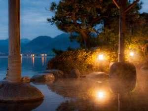 湖上に浮かぶ絶景の宿 はわい温泉 千年亭:営業時間 当日22:00まで 翌日05:30から
