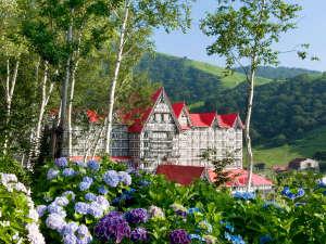 奥白馬温泉 ホテルグリーンプラザ白馬:白馬の大自然&温泉&バイキングを満喫!夏レジャー、紅葉、スキー♪オールシーズン楽しめる高原リゾート