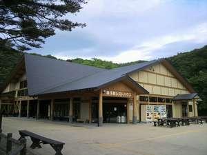 鳴子峡のお休み処。お食事やお土産もあります