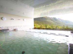 夏油高原スキー場スキーヤーズベット 兎森の湯:大展望露天風呂
