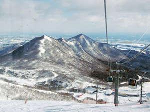夏油高原スキー場スキーヤーズベット 兎森の湯:ゴンドラ運行