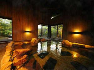 手塚ryokan:広い湯舟で手足を伸ばしてリラックス~優しく肌を撫でる