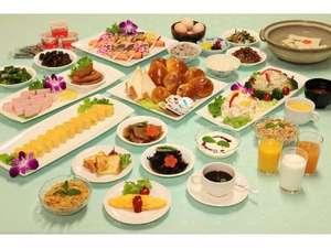 ホテル川六エルステージ高松:リニューアルした朝食バイキングメニューです。季節により内容が変わります。