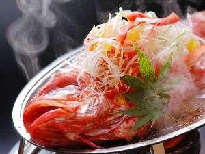 蜜柑の花咲く丘の宿 旅館 幸太荘:人気の特別料理金目鯛の煮付け