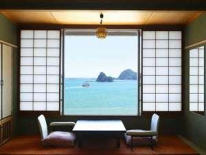 下田聚楽ホテル:和風館タイプの客室(全室海側)