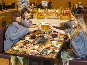 下田聚楽ホテル:みんなでカンパイ♪女子会プランもあります