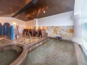 地下1階フロアーにある大浴場