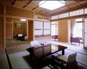 特別室(1日1室限定)宇奈月ダムの眺めを楽しめるのはこの部屋!