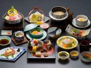 「ホタルイカ&シロエビ!富山湾の神秘と宝石会席」料理例