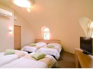 【客室】(メルヘンゾーン)4ベッドルーム。2~4名様まで☆