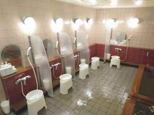 厚木カプセルホテル:【大浴場&サウナ】のご案内。ジャグジー&水風呂/100℃サウナ/個室シャワーブース