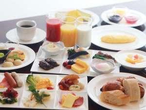 ホテルメトロポリタン仙台:旬菜グリル&カフェ「セレニティー」朝食バイキング