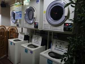 ビジネスホテルミリオンシティ:洗濯機