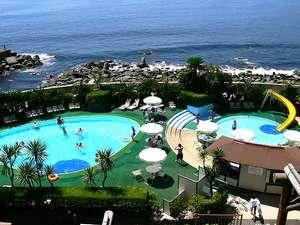 伊豆稲取 銀水荘:【夏季屋外プール】夏はやっぱりプール!たっぷり遊んだら温泉で湯ったり♪