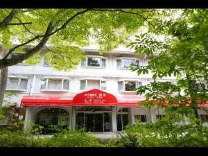 山中湖畔荘 ホテル清渓 外観
