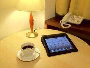 白河ビジネスホテル:ご要望にあわせてiPadを貸し出し致します。※台数に限りがございます。