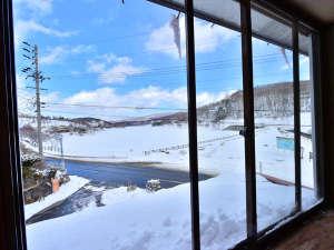 レイクサイド ホステル ジル白樺湖:白樺湖一望、最高のロケーション