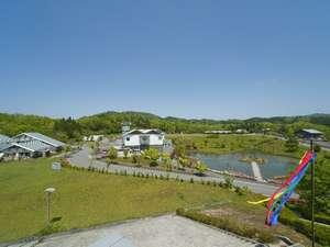 温泉リゾート風の国(ホテル&コテージ):33ヘクタールの広大な森林公園