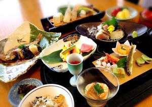 温泉リゾート風の国(ホテル&コテージ):のど黒付き会席日本海の幸をご堪能