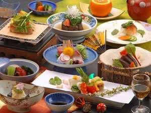 川涌の湯 マウントビュー箱根:月替わりの和食会席膳(イメージ写真)
