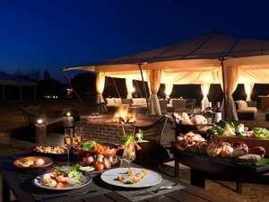 【ご夕食】グランピングディナー ※写真はイメージとなります