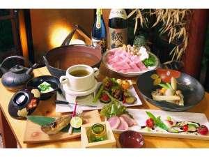 酒仙の宿 晩:食事メニュー