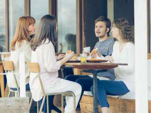 Hotel FLEX:1階カフェ Cafe