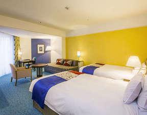 神戸ポートピアホテル:全室バルコニー付!南館サウスリゾート ツイン 一例