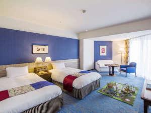 神戸ポートピアホテル:南館ファミリールーム(一例)