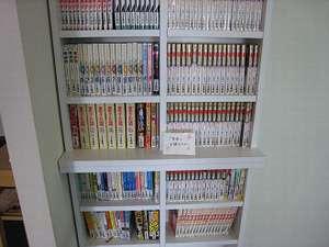 ホテルYes長浜駅前館:充実の漫画コーナー1番館6F・2番館3F、6Fにあります。