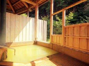 ロッヂたちばな:◆玄武温泉かけ流しの露天風呂