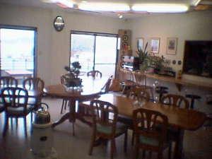 SeaSideうわかい:食堂