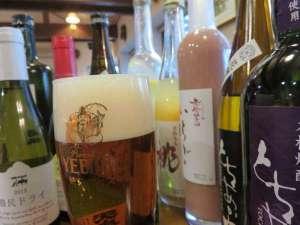 ペンション 散歩道:【厳選栃木酒】生ビールも琥珀エビスでmade in 那須のこだわりです♪