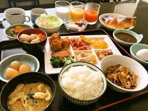 ホテル・アルファ-ワン鶴岡:ご朝食バイキング