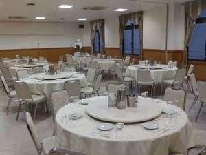 奄美ポートタワーホテル:広々とした収容人数約90名の大宴会場です!