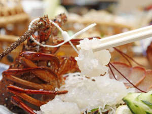 木の温もり溢れる和風旅館 松阪屋 吸霞園:◎伊勢海老 お好みの調理でお楽しみ下さい