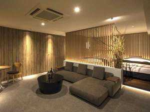 HOTEL THE Grandee心斎橋(ホテル ザ グランデ心斎橋):813号室『月見』/和の心が感じられる上質を極めたスイートルーム。