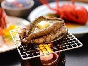 海辺の料理宿 政右ヱ門(まさえもん):人気の千倉産のアワビをステーキで♪