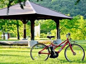 【レンタサイクル】定山渓周辺の散策に最適。自転車のご用意は、ホテル前まで可能