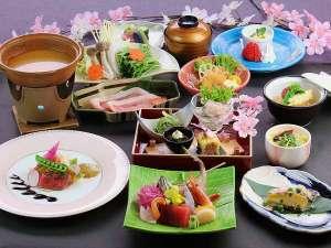 フォレストリゾート ホテル城山:3月4月のお献立春らしい華やかなお料理たち