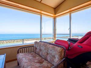絶景!海一望角部屋特別室401・露天風呂付き客室12.5帖+ツイン