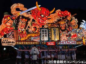 黒石温泉郷温湯温泉 山賊館:青森ねぶた祭り!毎年多くの人が訪れる青森の伝統的なお祭りです!